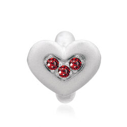 Endless Bedel Garnet Red Triple Love 41300-4