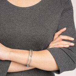 Esprit Stalen Armband Met Zirkonia