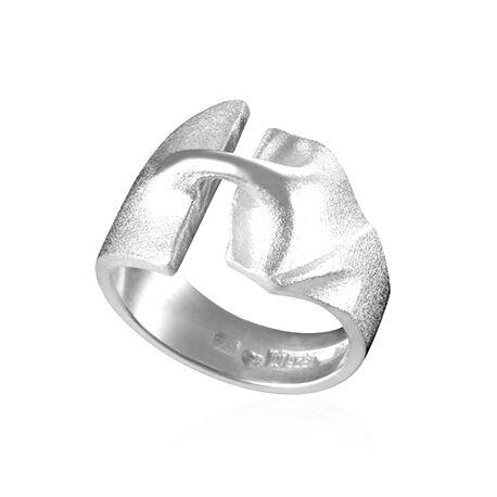 Zilveren ring Styks van Lapponia