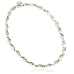 Boccia titanium collier bicolor 46 cm 0876-02