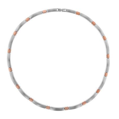 Boccia Titanium Collier Bicolor 0877-03