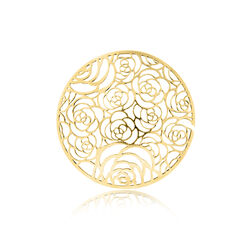 MY iMenso 33mm Cover Flowers Verguld 33-1264
