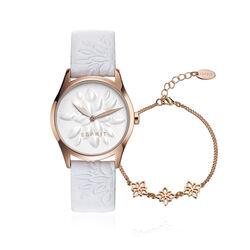 Esprit horloge time met armband een mooie actie