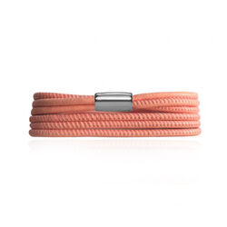 Endless Leren Armband Peach 3 Strings 12220