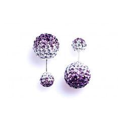 Karma Double Dots Fade To Purple 11094