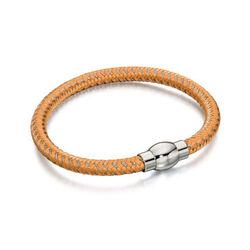 Fred Bennett Oranje Armband Magneetsluiting B4733