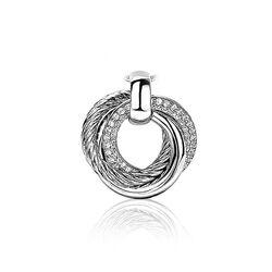 Zinzi zilveren hanger ronde vormen zih1284