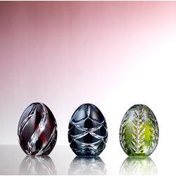 Tatiana Faberge Mini Kristallen Ei Blauw
