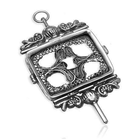 Antieke Zilveren Horlogesleutel