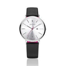 Zwart wit Retro horloge Zinzi