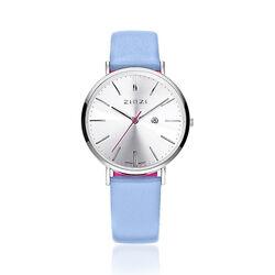 Zinzi Retro Horloge Zacht Blauw Ziw402b