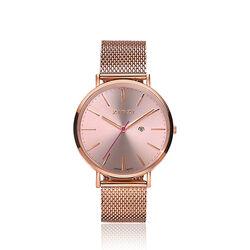 Rosé verguld stalen horloge van Zinzi ziw405m