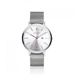 Zinzi Retro Horloge Stalen Mesh Band Ziw402m
