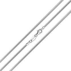MY iMenso Zilveren Slangencollier 50 Cm 27-0051