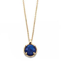 Fiorelli 9 krt collier Luminary lapis lazuli