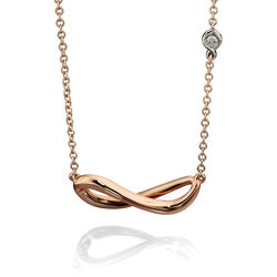 Fiorelli 9 krt Infinity collier met briljant