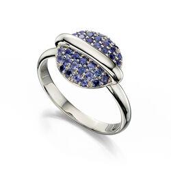 Fiorelli 9 krt Ring Eclipse Blauw Ioliet Gr489