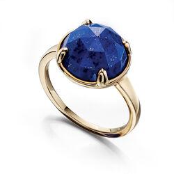 Fiorelli 9 krt ring lapis lazuli