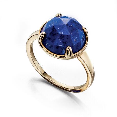 gouden ring lapis lazuli Fiorelli
