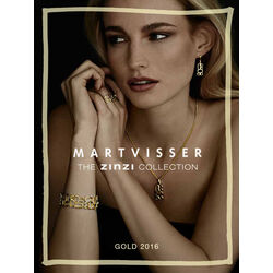 Gouden oorbellen Mart Visser Zinzi MVGO3