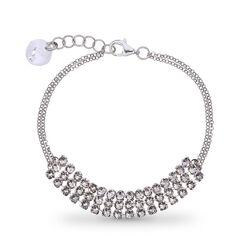 Spark stylish armband white transparant