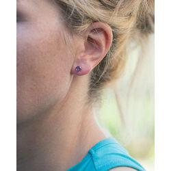 gouden oorbellen amethist