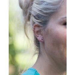 gouden oorbellen saffier