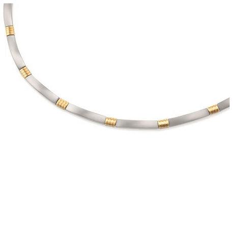 Boccia Titanium Collier Bicolor 0877-02