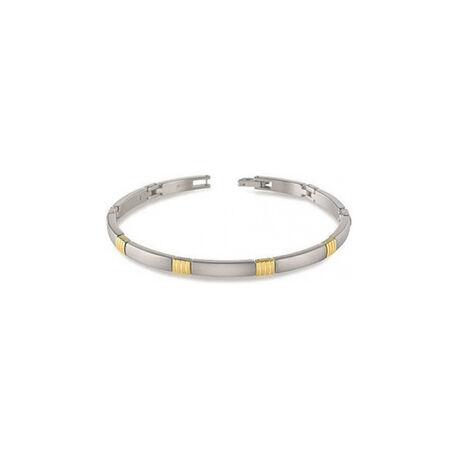Titanium armband bicolor Boccia 03002-02