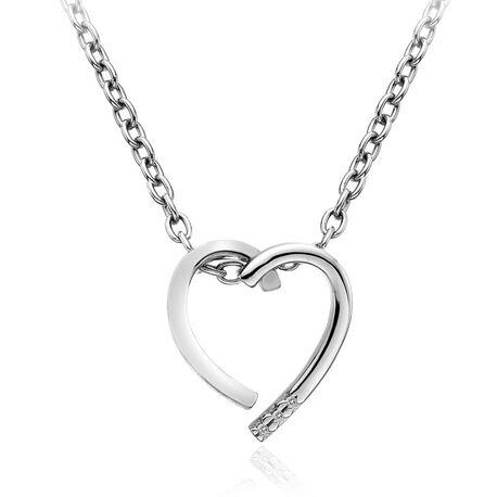 Hot Diamonds Collier Glide Heart Dp625