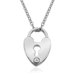 Hot Diamonds Collier Love Rock Dp624