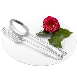 zilveren vork en lepel model Prinses