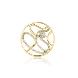 MY iMenso Fantasie Insignia Swirl Flower Gold 241295