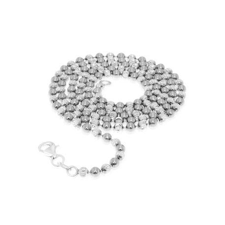 Zilveren bead ketting My iMenso 50cm 27-0018