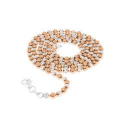 MY iMenso beads collier deels roséverguld 27-0021 50 cm