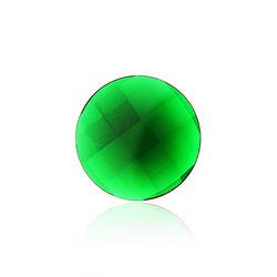 MY iMenso 24mm Crystal Groene Facet Geslepen Steen 241289