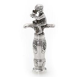 Zilveren Kurkentrekker Type Bacchus