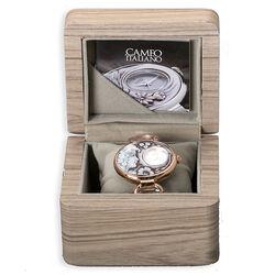 Verguld schakel horloge met camee Cameo Italiano