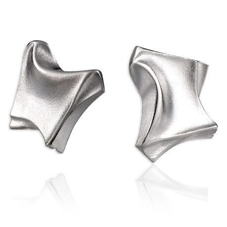 zilver oorstekers Mini Punk Lapponia 670035