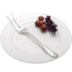 Zilveren vleesvork model prinses