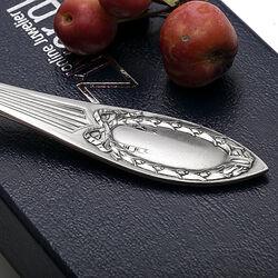 Art Nouveau Zilveren Brijlepel