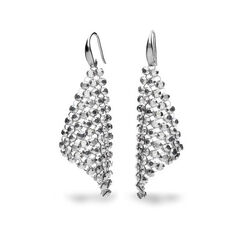 Spark zilveren small chic earrings crystal