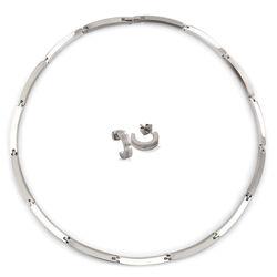 Sieradenset collier met oorbellen Boccia