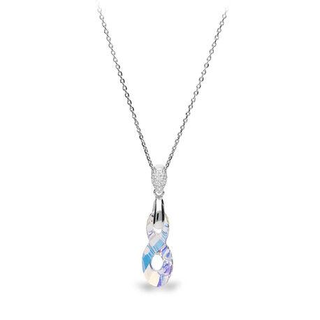 Spark Zilveren Infinity Aurora Boreale