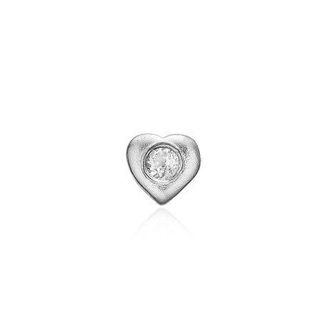 Christina Collect Element Zilveren Topaas Hart