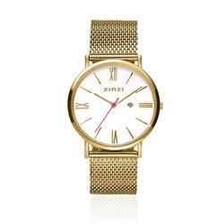 Zinzi Roman Horloge Verguld Ziw507m