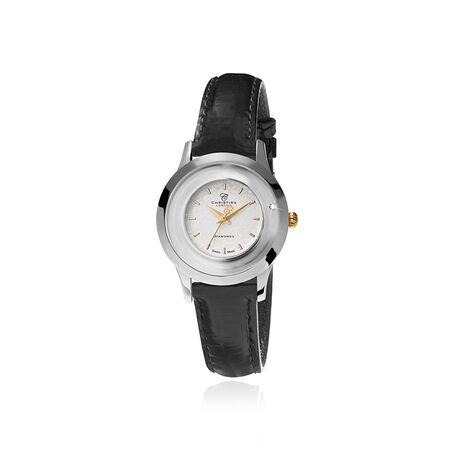 Christina stalen dames horloge 300bwbl