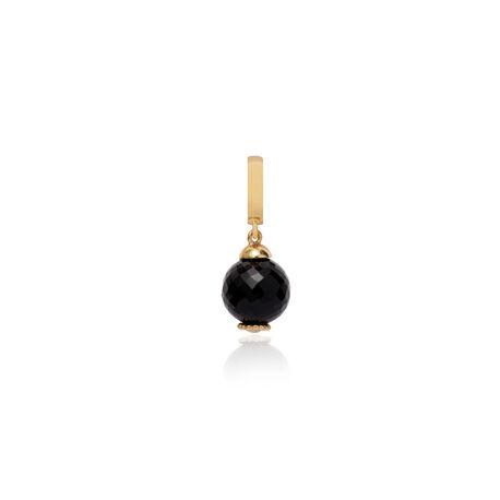 Christina vergulde charms Black Onyx Passion 610-G10