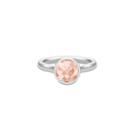 Julie Sandlau Sweet Pea Ring Morganite Crystal