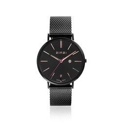 Zwart ZInzi Retro horloge